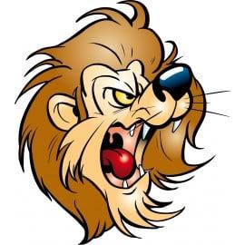 sticker Autocollant enfant lion