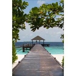 Stickers muraux déco : Maldives