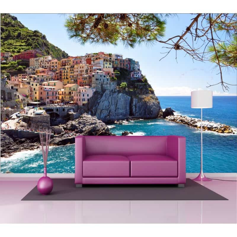 stickers g ant d co paysage mer art d co stickers. Black Bedroom Furniture Sets. Home Design Ideas