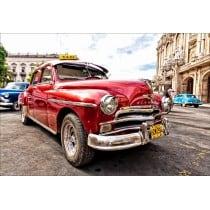 Stickers muraux déco : voiture rouge