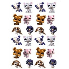 sticker Autocollant enfant Littlest Pet Shop