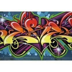 Stickers muraux déco : tag graffiti