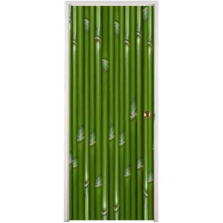 Sticker pour porte plane Bambou
