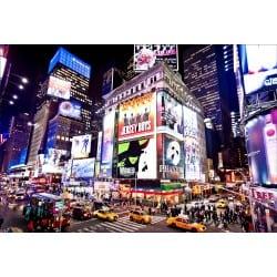 Stickers muraux déco : New York la nuit