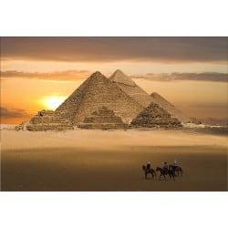 Stickers muraux déco: pyramide