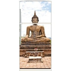 Sticker frigo déco Bouddha 70x170cm
