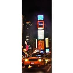 Sticker frigo déco New York 70x170cm