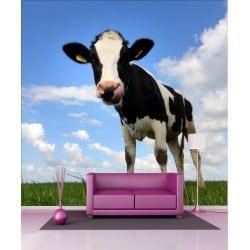 Stickers géant déco : vache