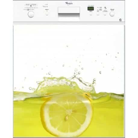 Sticker Lave Vaisselle Citron