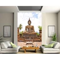 Stickers géant déco : Bouddha