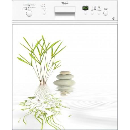 Sticker Lave Vaisselle Galet