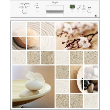 Sticker Lave Vaisselle Nature