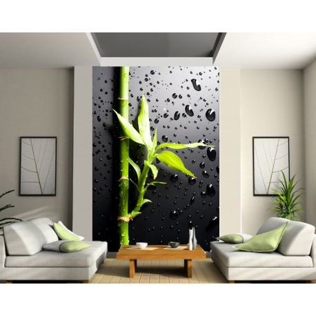 stickers g ant d co bambou art d co stickers. Black Bedroom Furniture Sets. Home Design Ideas