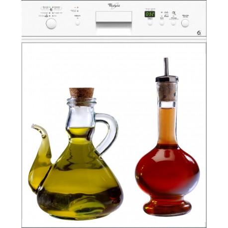 Sticker Lave Vaisselle Huile&Vinaigre