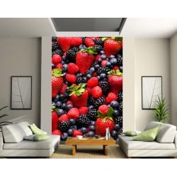 Stickers géant déco : fruits