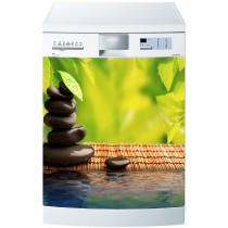 Stickers lave vaisselle ou magnet lave vaisselle Galets