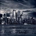 Sticker Lave Vaisselle New York La Nuit