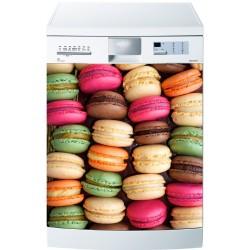 Stickers lave vaisselle Macarons ou magnet lave vaisselle