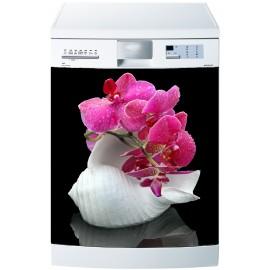 Stickers lave vaisselle ou magnet lave vaisselle Orchidée