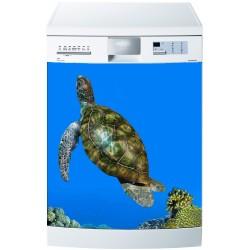 Stickers lave vaisselle ou magnet lave vaisselle Tortue