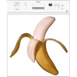 Sticker Lave Vaisselle Banane