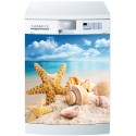 Stickers lave vaisselle ou magnet lave vaisselle Etoile de mer