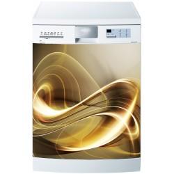 Stickers lave vaisselle ou magnet lave vaisselle Design