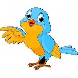 Sticker enfant Oiseau