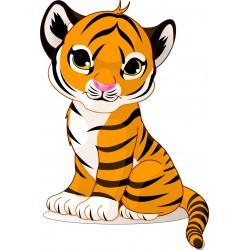 Stickers enfant Tigre