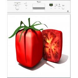 Sticker Lave Vaisselle Tomate Carré