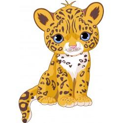 Stickers enfant Bébé Jaguar