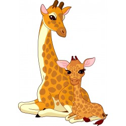 Stickers enfant Girafes