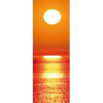 Papier peint porte déco - couché de soleil