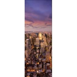 Papier peint porte déco - New York