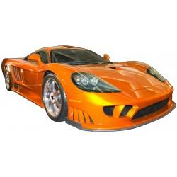 Sticker autocollant Voiture Orange