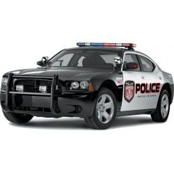 Sticker autocollant Voiture Police US