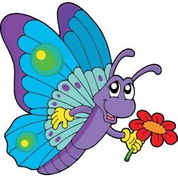 Stickers enfant Papillon