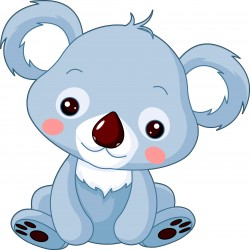Stickers enfant koala