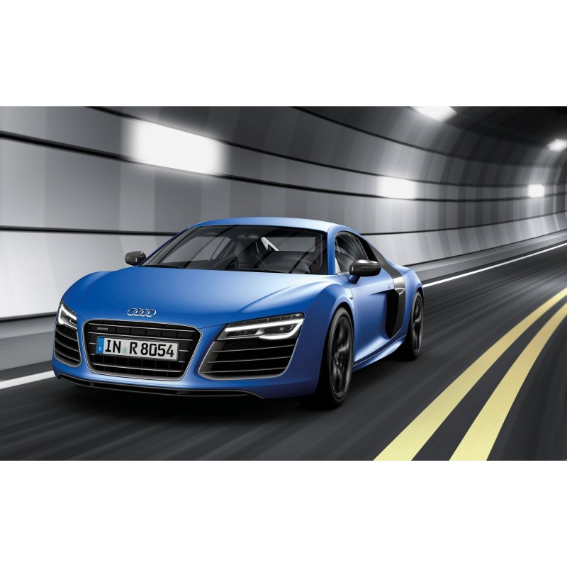 stickers ou affiche poster voiture audi r8 art d co stickers. Black Bedroom Furniture Sets. Home Design Ideas
