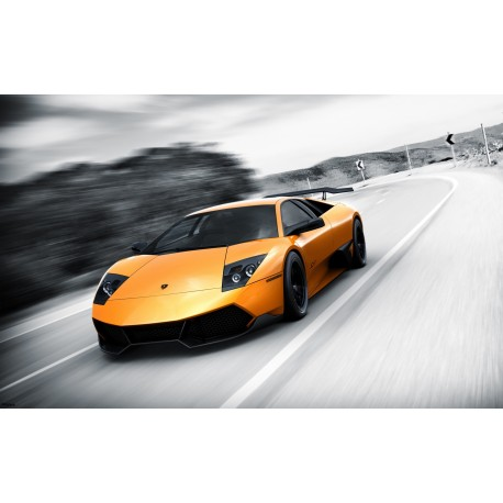 Stickers ou Affiche poster voiture Lamborghini