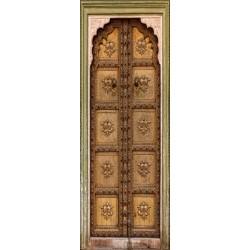 Papier peint porte déco - vieille porte orientale