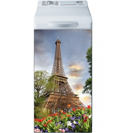 Sticker Lave Linge Tour Eiffel