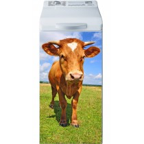 Sticker Lave Linge Vache