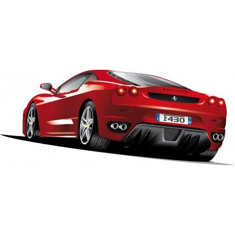 Sticker autocollant Ferrari