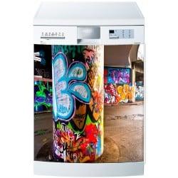 Stickers lave vaisselle ou magnet lave vaisselle Graphitti Tag