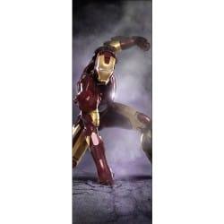 Stickers pour porte enfant Iron Man