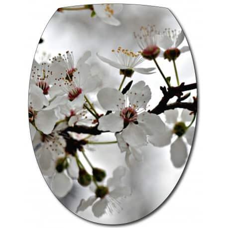 Sticker Abattant de WC Cerisier