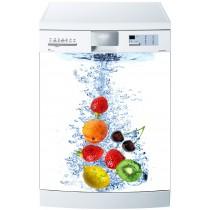 Stickers lave vaisselle ou magnet lave vaisselle Fruits