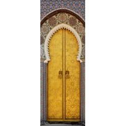Papier peint porte déco - porte orientale