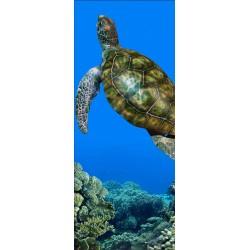 Papier peint porte déco - tortue